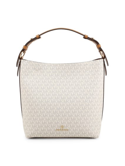 Full Print Zip Shoulder Bag