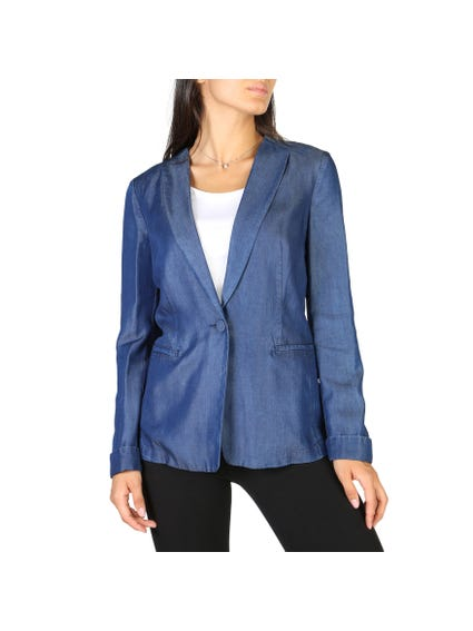 Notch lapel Fibre Blazer
