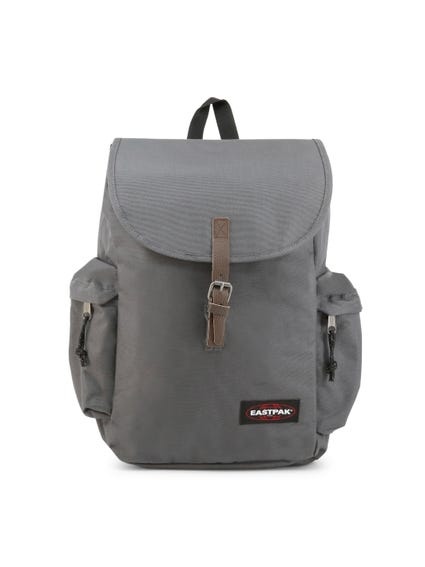 Grey Classic Handle Backpack
