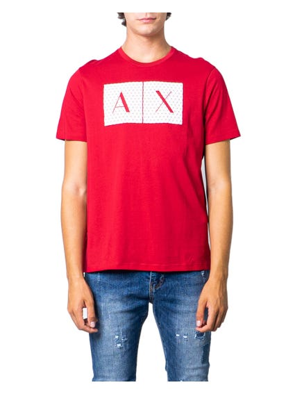Red Short Sleeve Logo T-shirt