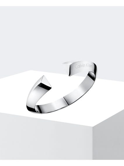 Shape Stainless Steel Bangle