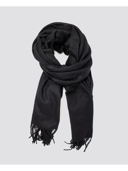 Black North Wool Scarf