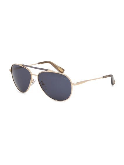 Yellow Gold Terry Richardson Sunglasses