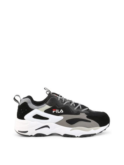 Black Chunky Ray Tracer Sneakers