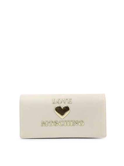 White Love Clutch Bag