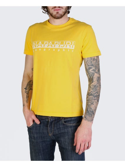 Yellow Sevora Short Sleeves T-Shirt