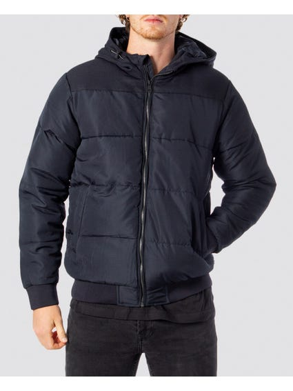 Boston Quilted Hood Jacket