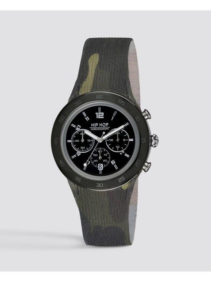 Camouflage Chronograph Watch