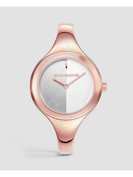 Rose Gold Quartz Stainless Steel Watch