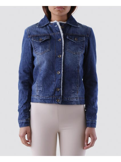 Classic Denim Button Jacket
