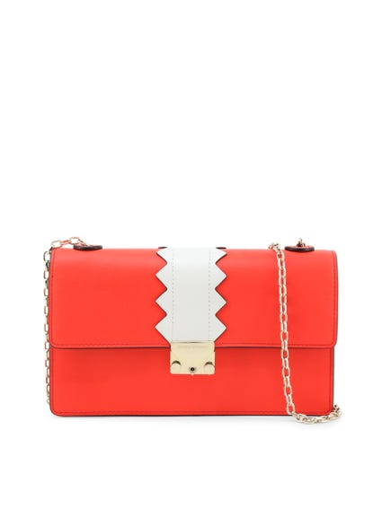 Magnetic Chain Clutch Bag