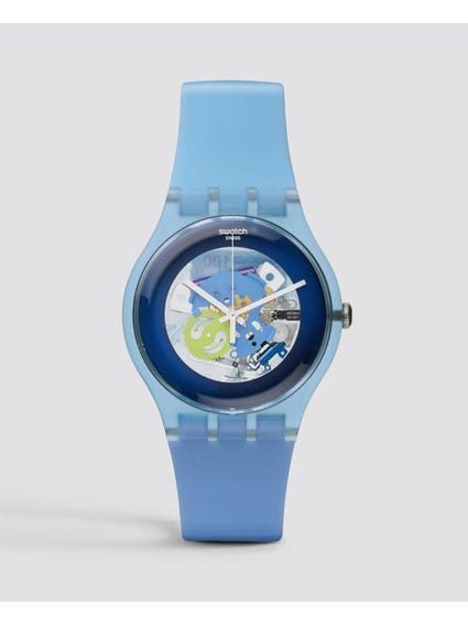 Blue Cool Me Skeleton Watch