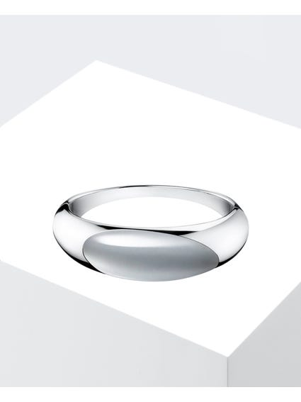 Ellipse Stainless Steel Bangle