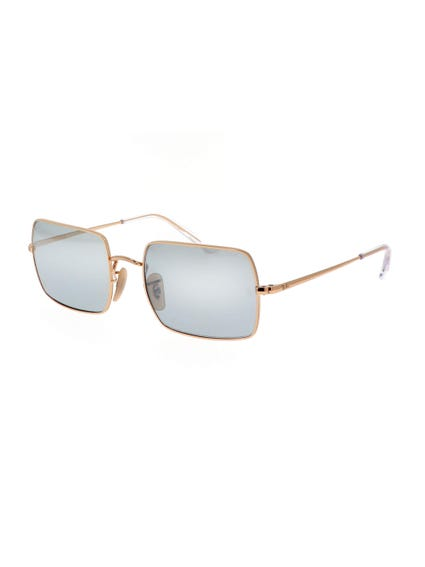 Yellow Rectangular Sunglasses