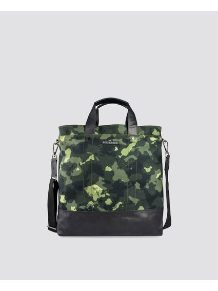 Camo Grab Top Briefcase