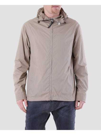 Beige Minimal Design Jacket