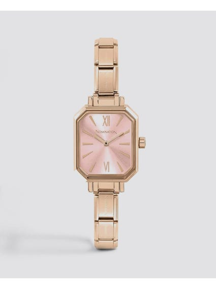 Classic Paris Rose Gold Tone Watch
