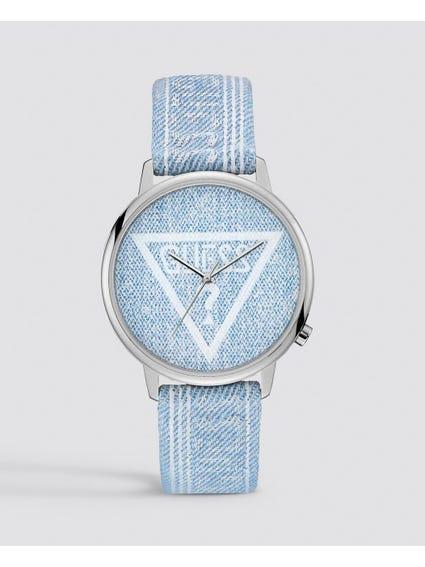 Logo Analog White Dial Watch
