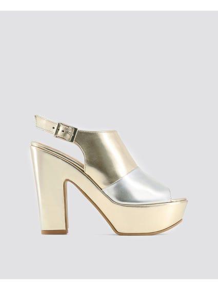 Metallic Bibiana Sandals