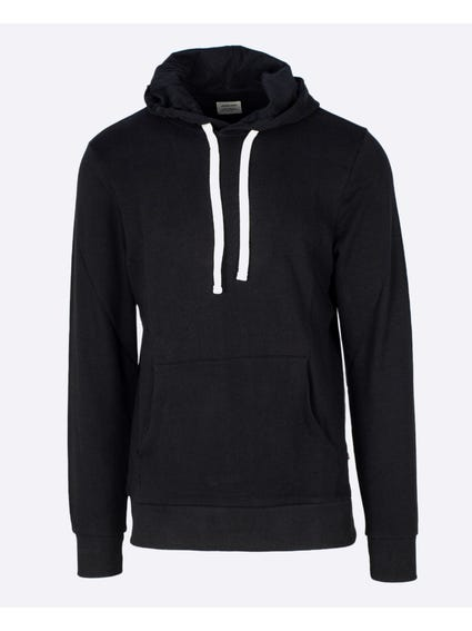 Black Pouch Pocket Sweatshirts