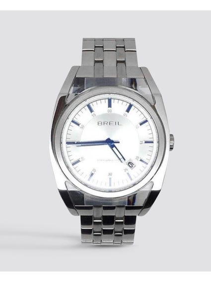 White Dial Atmosphere Stainless Steel Watch
