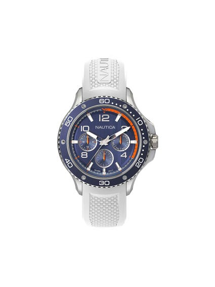 White Chronograph 3 Hands Watch