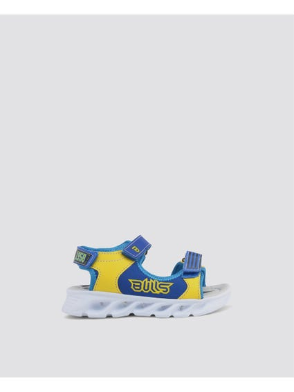 Blue Thick Kids Sandals