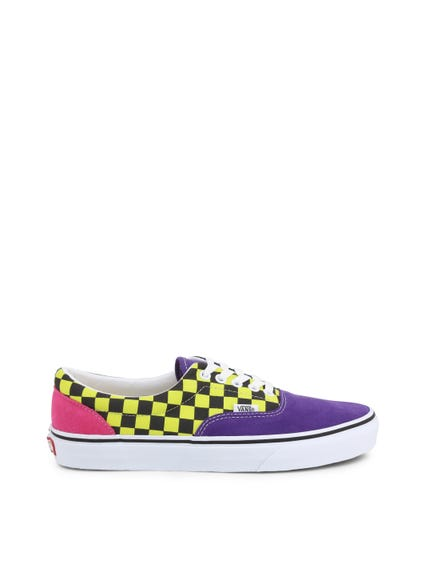 Yellow Multi Colered Sneakers