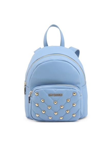 Blue Handle Pack Studs Backpack Bag