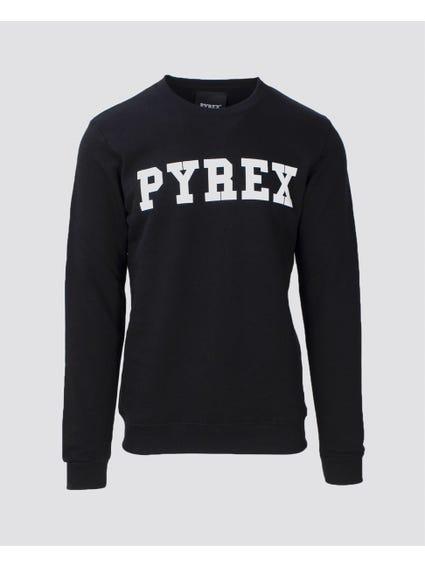 Black Maglia Felpa Sweatshirt
