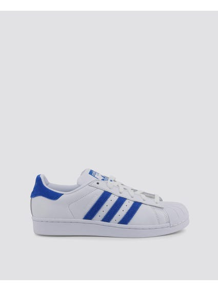 Blue Stripe Superstar Sneakers