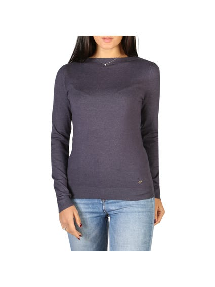 Blue Long Sleeve Sweater