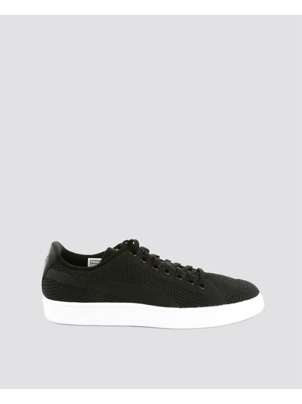 Black Basket Classic EvoKnit Sneakers