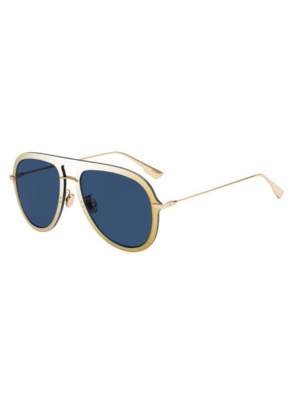 Oval Aviator Sunglasses