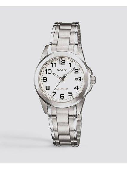 Stainless Steel Dial Analog Watch