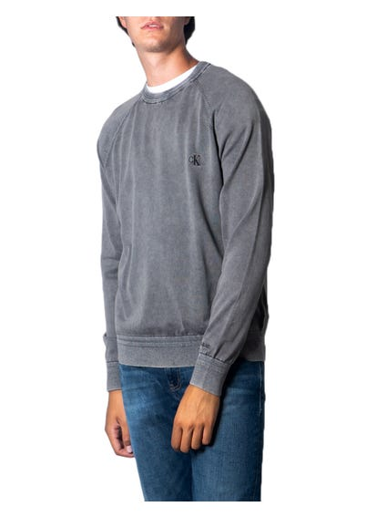 Grey Long Sleeve Logo Sweatshirt