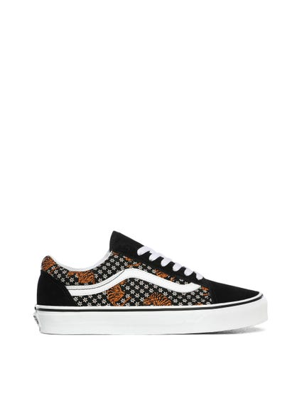 Animal Print Old Skool Lace Sneakers