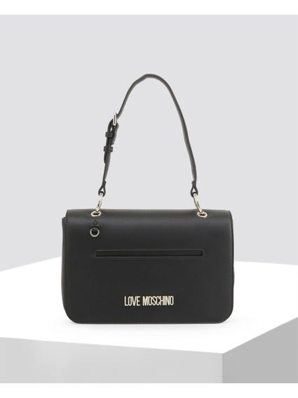 Black Delicate Leather Bag