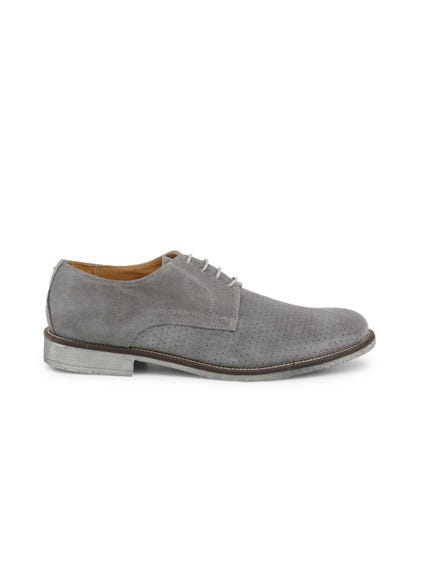 Grey Camosciobucato Lace Up Shoes