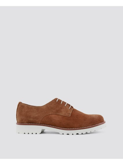 Brown Il-cielo Lace Up Shoes