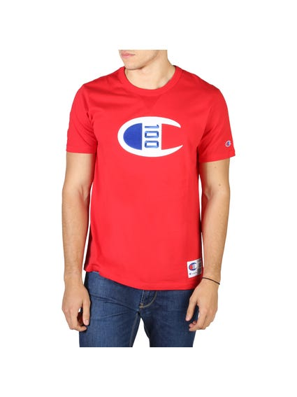 Red Graphic Short Sleeve T-shirt