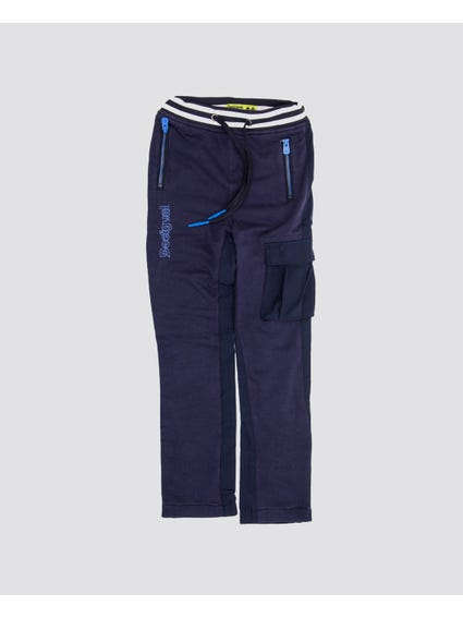 Sporty Elasticated Kids Trouser