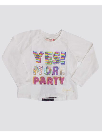 More Party Long Sleeves Kids Top