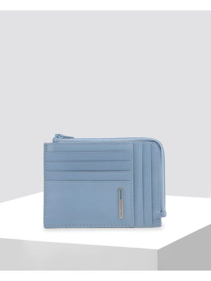 Light Blue Credit Card Holder