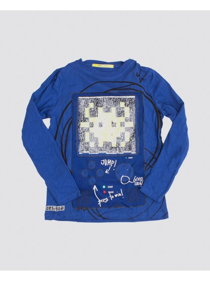 Game Over Long Sleeves Kids Top