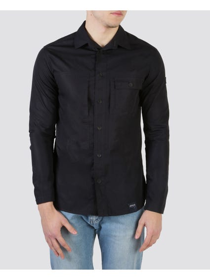 Navy Long Sleeves Shirt