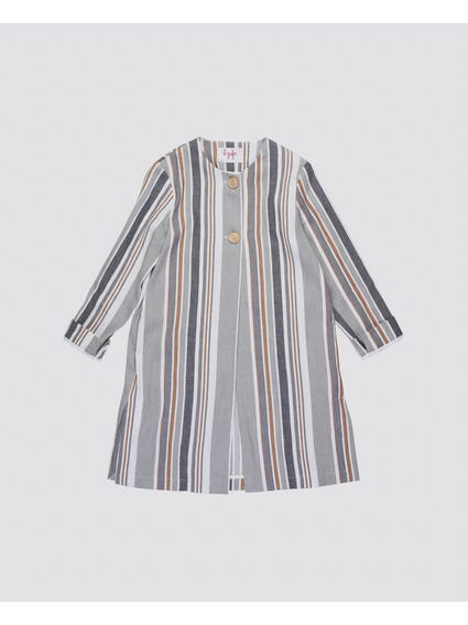 Striped Long Sleeves Kids Shirt