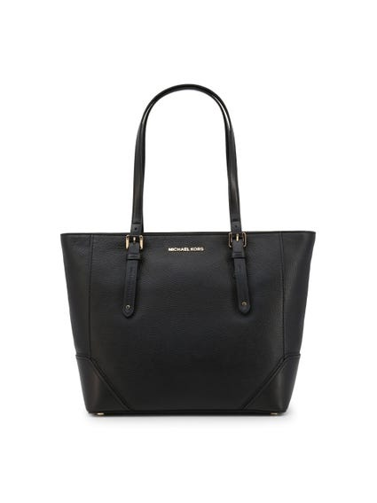 Black 2 Handles Shoulder Bag