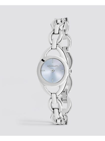 Grey dial Stainless-Steel Quartz  Watch