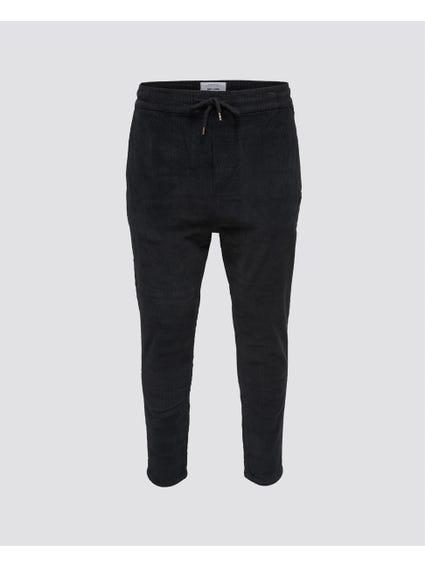 Elastic Sweat Pants